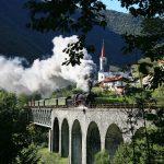Wocheiner Bahn Dampflok Slowenien