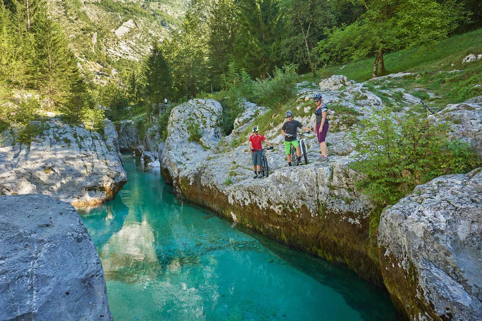 Eldorado für Radfahrer: Slowenien - Foto: Tomo Jeseničnik