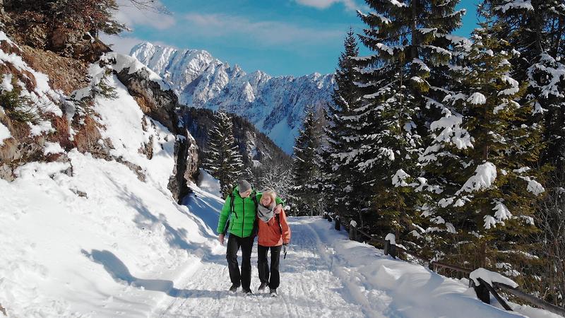 Winter in Slowenien