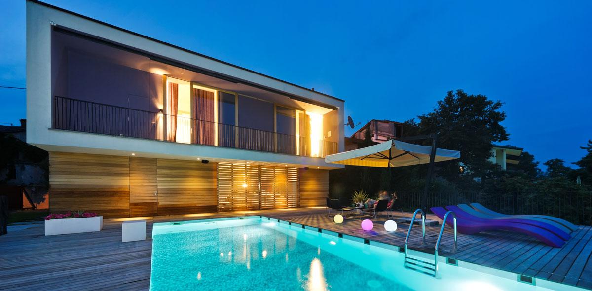 Ferienhaus mit Pool, Slowenien