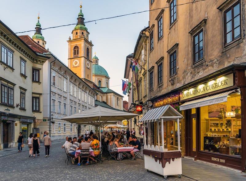 Restaurants in Ljubljana