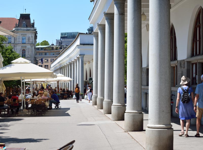 Zentralmarkt in Ljubljana