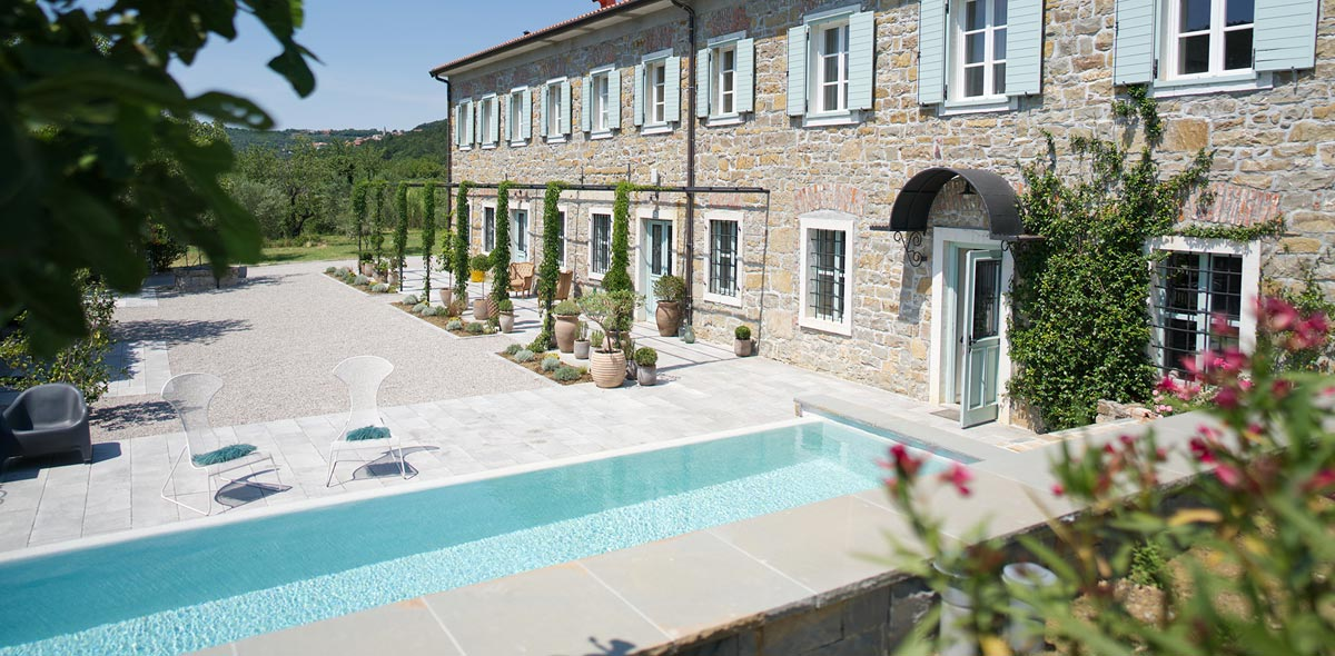 Boutique Hotel mit Pool in Slowenien